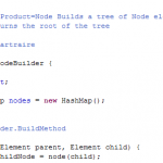Example of a declaration of a Builder pattern occurrence