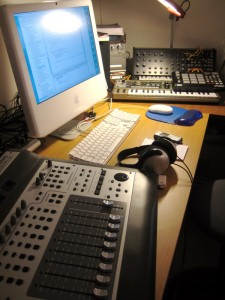 A typical project studio