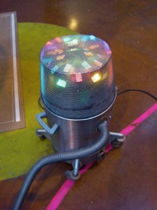 Yet another strangely typed object (the disco vaccum cleaner)