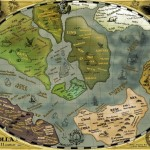 "The Arolla ""ancient world map"" of the software development universe - click to enlarge"