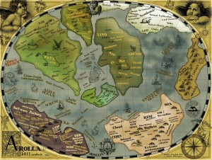 "The Arolla ""ancient world map"" of our software development universe"
