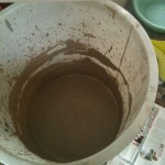 The liquid clay waiting to become creative